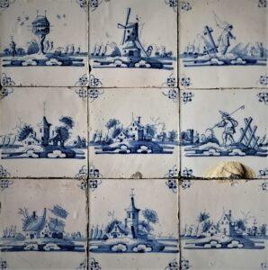 Flizy pejzażowe ipasterskie, Amsterdam, Ip.XVIII w.