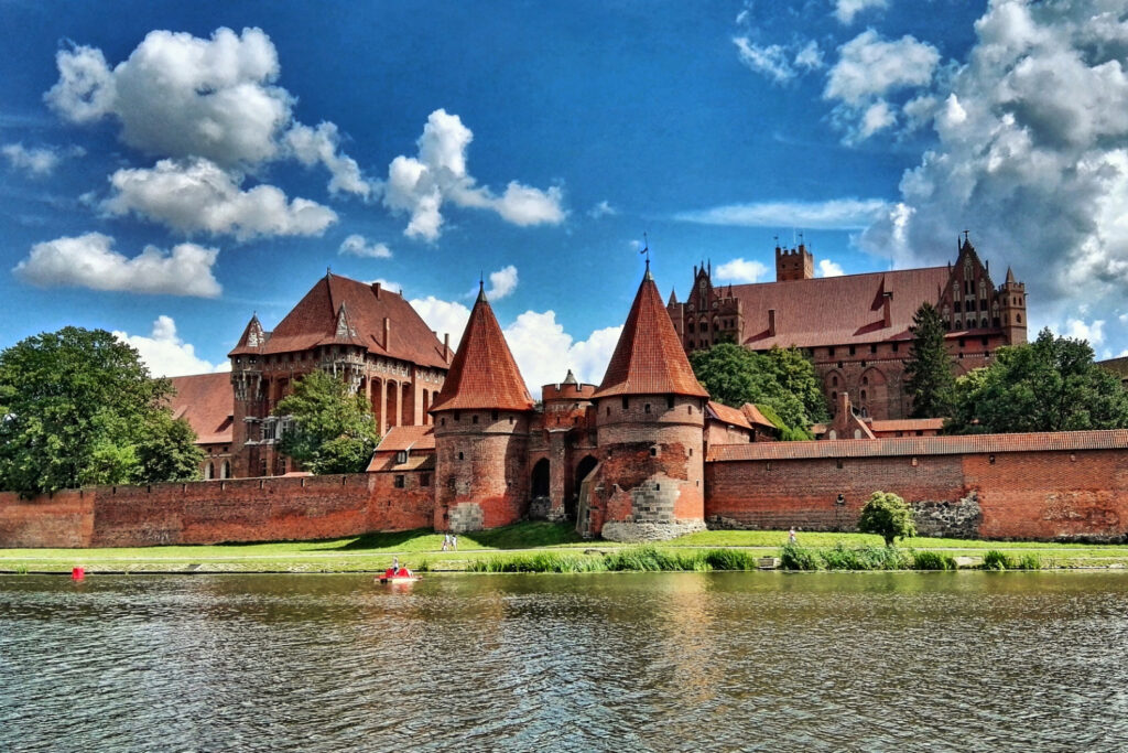 Zdjęcie malborskiego zamku. Fot.Łukasz Mocek