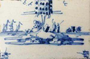 Gołębnik, Amsterdam, Ip.XVIII w