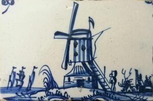 Wiatrak, Amsterdam, Ip.XVIII w