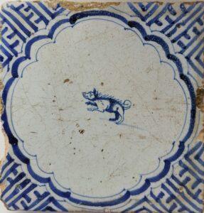 Zwierzę (dzik), Ip.XVII w.