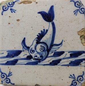 Potwór morski, Rotterdam, ok 1630-1650 r.