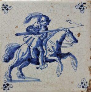 Jeździec, ok. 1660