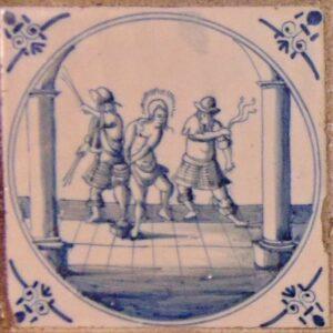 Biczowanie Jezusa, Rotterdam ok. 1680-1720 r.