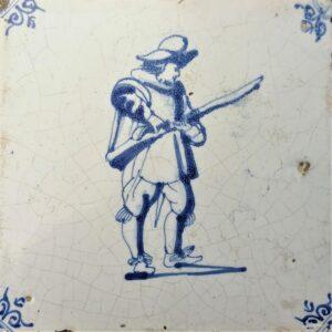 Arkebuzer, druga połowa XVII wieku