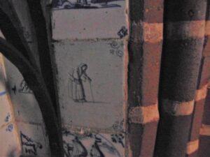 Kobieta idąca okulach, druga połowa XVII w.